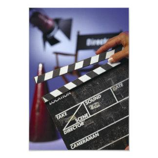 Director's Slate 3.5x5 Paper Invitation Card
