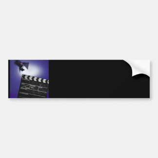 Director's Slate & Stage Light Car Bumper Sticker