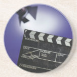 Director's Slate & Stage Light Coasters