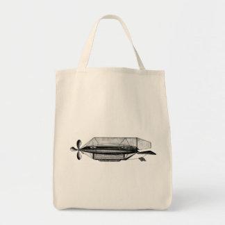 Dirigible Blimp Vintage Victorian Airship Bags