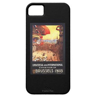 Dirigible de Lebaudy con las banderas del mundo en Funda Para iPhone SE/5/5s