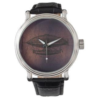 Dirigible de Steampunk Relojes De Mano