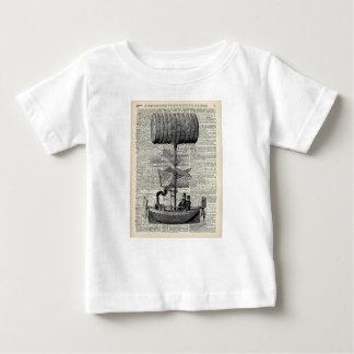Dirigible del impulso del vintage t-shirt