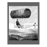 Dirigible del vintage/dirigible del dirigible no r tarjeta postal