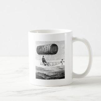 Dirigible del vintage/dirigible del dirigible no r taza de café