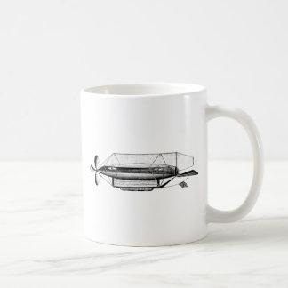 Dirigible dirigible del dirigible no rígido del vi taza