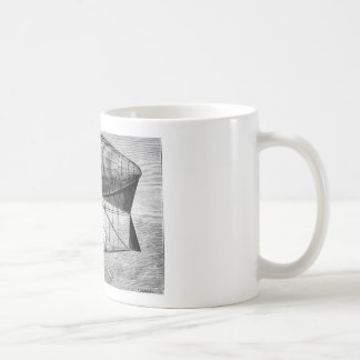 Dirigible no rígido del dirigible del dirigible de tazas de café