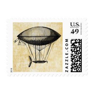 Dirigible Stamp