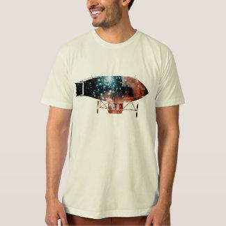 Dirigible Zeppelin Silhouette Tee Shirt