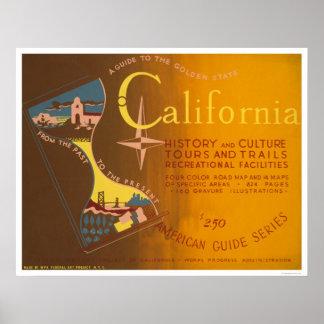 Dirija a California WPA 1940 Posters