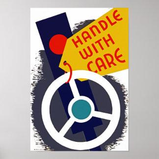 Dirija con cuidado posters