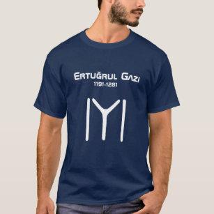 Men/'s Ertugrul Dirilis Kayi Tribe Polo Shirt T-shirt Turkish SMALL-XXXL