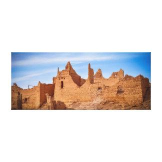 Diriyah Palace Ruins canvas Gallery Wrap Canvas