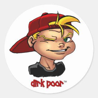 Dirk Poor™ Sticker