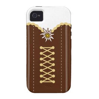 Dirndl fiesta de la cerveza Case-Mate iPhone 4 funda
