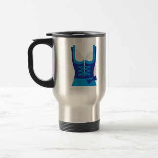 Dirndl Oktoberfest Dress 15 Oz Stainless Steel Travel Mug
