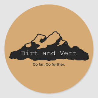Dirt and Vert Small Sticker Pack (20 Stickers)