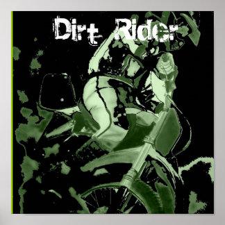 Dirt Bike 1 Dirt Rider Poster