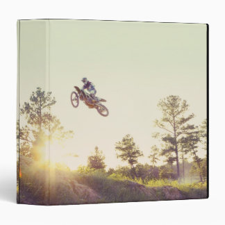 Dirt Bike 3 Ring Binder