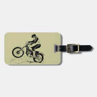 Dirt Bike ATV Design Luggage Tags