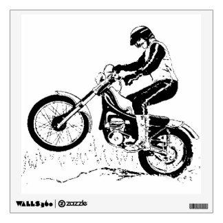Dirt Bike ATV Wall Decal