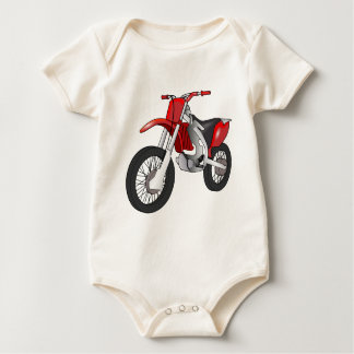 Dirt Bike Baby Bodysuit