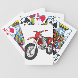 Dirt Bike Bicycle Playing Cards