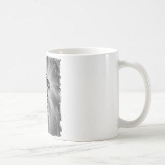 Dirt Bike Blasting Thru Black/White Coffee Mug