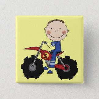Dirt Bike - Boy Tshirts and Gifts Button