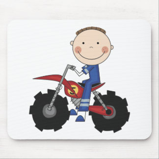 Dirt Bike - Boy Tshirts and Gifts Mouse Pad