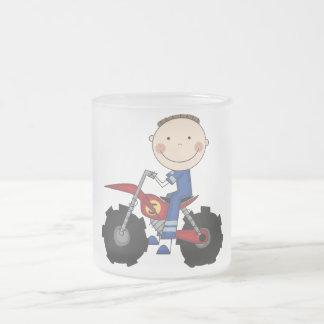 Dirt Bike - Boy Tshirts and Gifts 10 Oz Frosted Glass Coffee Mug
