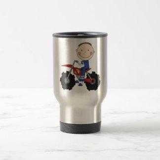 Dirt Bike - Boy Tshirts and Gifts 15 Oz Stainless Steel Travel Mug