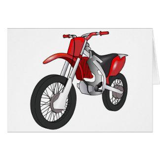 Dirt Bike Card
