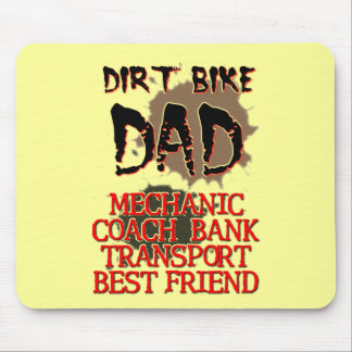 Dirt Bike Dad Motocross Mousepad