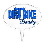Dirt Bike Daddy Cake Picks