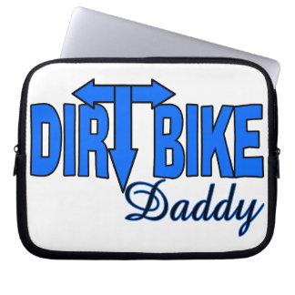 Dirt Bike Daddy Computer Sleeves