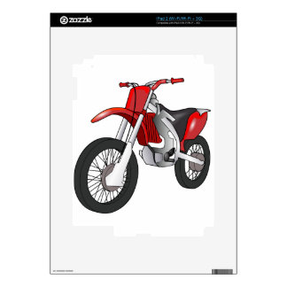 Dirt Bike Decals For iPad 2