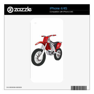 Dirt Bike Decals For The iPhone 4S