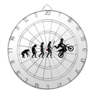 Dirt Bike Evolution Dart Board