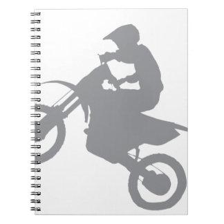 DIRT BIKE (grey) Notebook