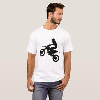 Dirt Bike Jump - Silhouette T-Shirt