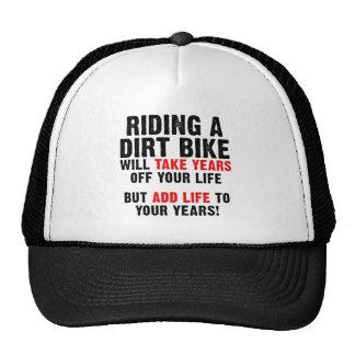 Dirt Bike Life To Your Years Motocross Cap Hat