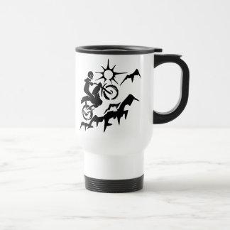 Dirt Bike Mountain Mugs