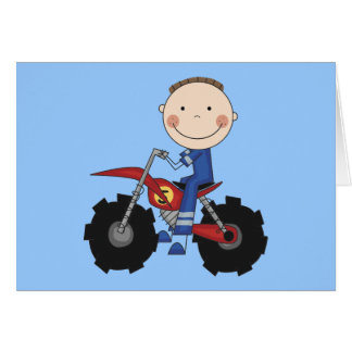 Dirt Bike Racing Tshirts and Gifts Card