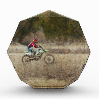 Dirt Bike Riding Acrylic Award