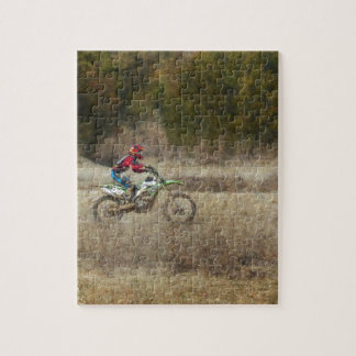 Dirt Bike Riding Jigsaw Puzzle