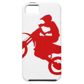 DIRT BIKE (scarlet) iPhone 5 Cases