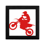 DIRT BIKE (scarlet) Trinket Box