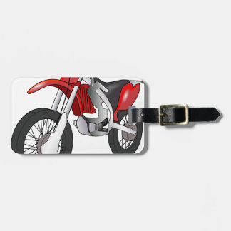 Dirt Bike Tag For Luggage