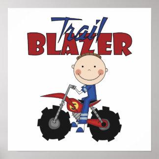 Dirt Bike Trail Blazer Posters